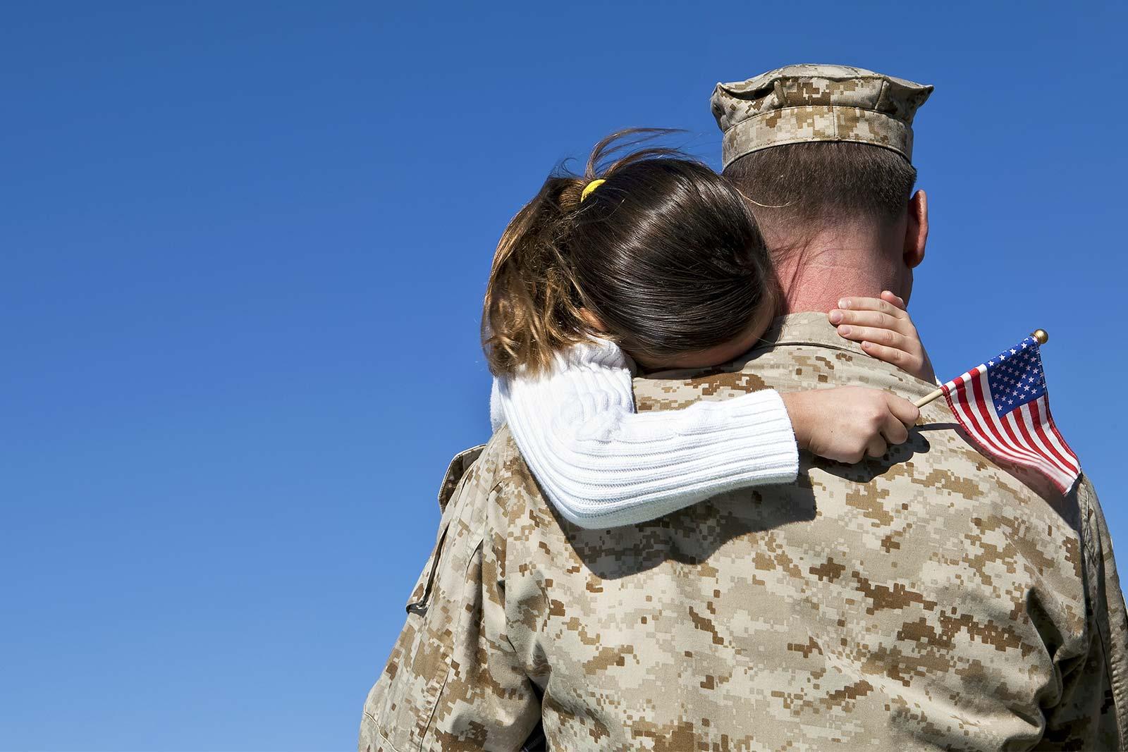MVF Marine Hugging Daughter